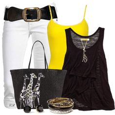 """""""Giraffe Girl ♥"""" by colierollers on Polyvore"""
