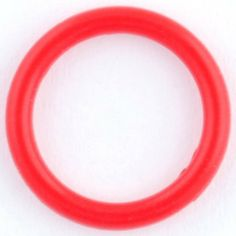 One Silicone O-ring: 0g Red Steel Navel Body Jewelry. $0.30. Save 63%!