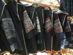 h'mong jackets in sapa