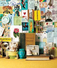 organizing keepsakes