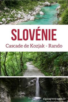Slovenia Travel Guide - Discover the mysterious Kozjak waterfall with a great easy walk in nature - Incredible colors! Video, photos and tips to plan your visit