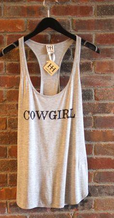 "Haute Hippie - ""Cowgirl"" Tank"