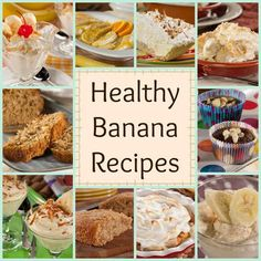 Don't go bananas looking for healthy banana recipes, because we've gotalist ofbanana bread recipes, easy banana muffins,banana cake recipes, and the best banana pudding! These banana recipes are tried and true with a splash of something new, like our Coconut Banana Bread or our Sweet and Tangy Bananas Foster. What's even better is that all of these banana recipes have been specially modifiedfor a diabetes-friendly diet. Yup, these are healthy banana recipes! So what are you w...