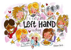 Dag van de linkshandigen!