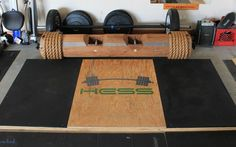 Weightlifting Platform. Project on my day off