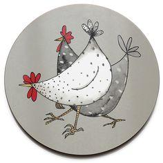 Wacky Chicken Trivet