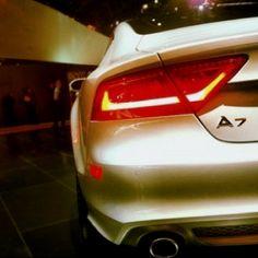 Audi A7 taillights