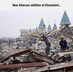 Disneyland's Alderaan