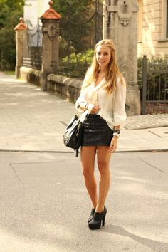 *Style - Roulette* - Münchner Mode & Lifestyle Blog: Outfit: Black and White