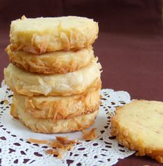 Toasted Coconut Wafers