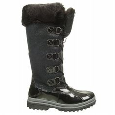 Khombu Women's Quechee Stingray Lace Up Winter Boot at shoes.com