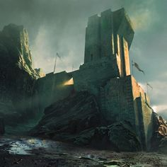 Done for Intro to Environment Painting with Maciej Kuciara