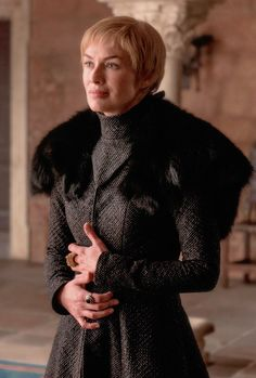 "Cersei Lannister in ""The Dragon and the Wolf"""