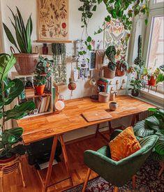 Studio Room, Aesthetic Room Decor, Dream Rooms, Home Office Decor, Cozy House, Room Decor Bedroom, Home Decor Inspiration, Sweet Home, Boho
