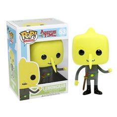 Funko POP Television Time Lemongrab Vinyl Figure : Your favorite inarguably weird Candy Person and ruler from Adventure Time with Finn and Jake has be Pop Vinyl Figures, Funko Pop Figures, Funk Pop, Vinyl Toys, Funko Pop Vinyl, Cartoon Network, Adventure Time, Pikachu, Pop Figurine