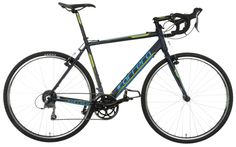 Conquer both the trails and the road on the Carrera Tanneri Limited Edition Cyclocross Bike 2015.