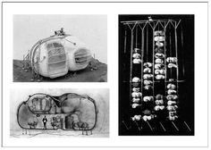 Living-Pod 1965Proyecto de David Greene Planteada como una unidad ligera a la que se le añaden servicios entendidos como máquinas y por lo tanto el usuario obtiene el control total. Además este proyecto está pensado para agregarse y formar también macroestruturas combinando así otra vez varios conceptos.