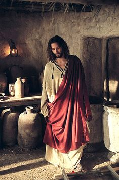 Watching LOST suddenly I realized: actor Desmond Hume/ Henry Ian Cusick /Jesus in The Visual Bible: The Gospel of John.