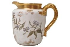 French Limoges Gilded Creamer: From the  sale curated by Mimi Thorisson $125 ~~~SOLD~~~