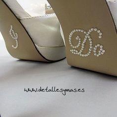 Pegatina perlitas I do para novia