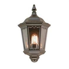 Do you like this Elstead - 100W Medstead Black Half Lantern Light