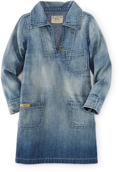 Ralph Lauren Denim Pullover Dress
