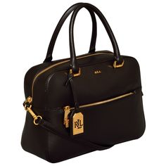 Ralph Lauren Whitby Box Satchel Handbag, Women's