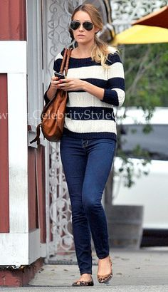Lauren Conrad wore the LC Lauren Conrad Leopard Flats leaving the Brentwood Country Mart September 24, 2011