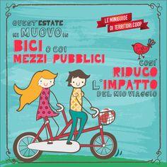 Muoviti in bici! Cosi' riduci l'impatto del tuo viaggio #vacanze #sostenibili