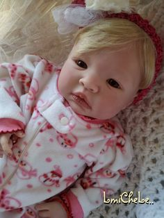 Completed Reborn Baby From the Shyann Kit  by LittleBlessingsFaith, $162.00