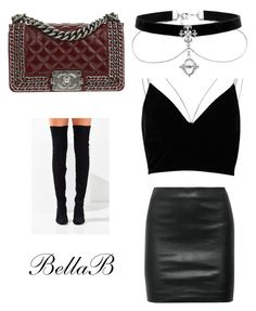 """""""Untitled #8"""" by banbangotit on Polyvore featuring River Island, Jeffrey Campbell, The Row and Chanel"""