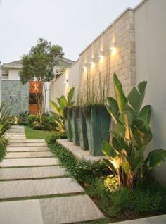 Beautiful Side Yard And Backyard Gravel Garden Design Ideas Home Design Small Front Yard Landscaping, Modern Landscaping, Backyard Landscaping, Landscaping Ideas, Landscape Lighting Design, Modern Landscape Design, Amazing Gardens, Beautiful Gardens, Gravel Garden