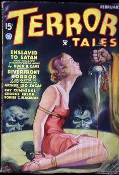 Terror Tales pulp horror magazine