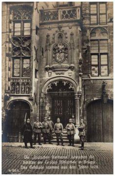 Bruges, Library 1914-1918
