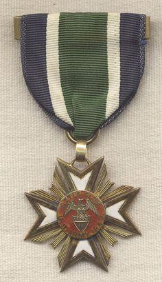 SOLD!!! 14 Karat Gold AZTEC Club Member Medal for Mexican War Veterans
