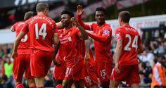 Raheem Sterling: Broke the deadlock for Liverpool