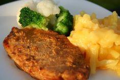 crockpot pork chops (lap band friendly)