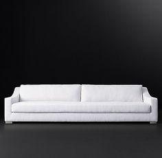 Modena Slope Arm Fabric Sofa | RH Modern