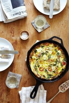 Heirloom Summer Herb Frittata