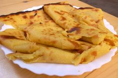 Socca - chickpea flatbread (almost crepelike). Local Nice specialty.