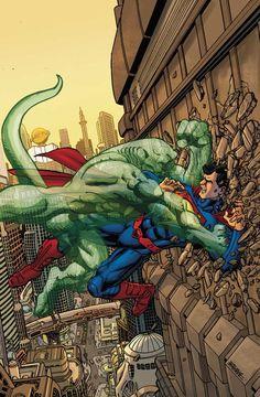 Superman by George Perez *