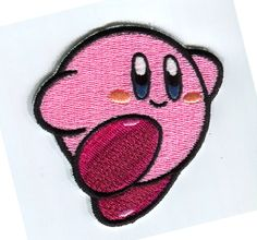 Hey, I found this really awesome Etsy listing at https://www.etsy.com/listing/201446509/super-mario-kirby-iron-on-patch