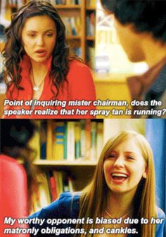 When classroom debates got a little too personal. | 23 Times Degrassi Perfectly Summed Up Your High School Experience