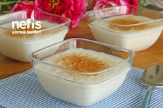How to make Rice Pudding Recipe (with video)? people's book of rice pudding recipe (video) & # Illustrated description and photos of the experimenters here. Low Carb Pizza, Pudding Recipes, Food Videos, Deserts, Rice, Youtube Youtube, Pet Products, Allah, Collars