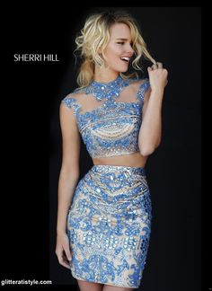 Sherri Hill - 1952 Glitterati Style has a great selection of short dresses! Come in to our Danvers location at 30 Maple St!