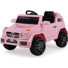 Mercedes Inspired Kids Ride On Car in Pink Baby Dolls For Kids, Toy Cars For Kids, Best Kids Toys, Toys For Girls, Toddler Car, Toddler Gifts, Kids Toys Online, Kids Ride On, Ride On Toys