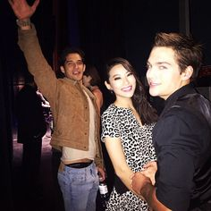 """Pin for Later: 32 Teen Wolf Cast Snaps That Will Give You Serious Pack Envy  Arden Cho: """"Backstage at the #PaleyFest! Thanks for all the love #Teenwolf fans, you guys are amazing. So thankful!"""""""