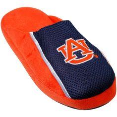 3e6b7d5025f7a3 Comfy Feet NCAA Auburn Tigers Slipper LG