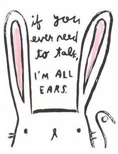 All ears - Postcard: Ghostacademy.com