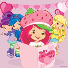 Image uploaded by Carla Gomes. Find images and videos about friends, valentine's and strawberry shortcake on We Heart It - the app to get lost in what you love. Raspberry Torte, Strawberry Shortcake Cartoon, Mickey Mouse, Coloring Book Pages, Blue Berry Muffins, Cartoon Art, Happy Valentines Day, My Childhood, Painting & Drawing